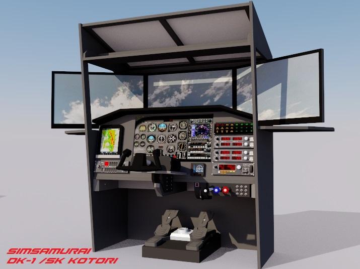DIY Flight Simulator Cockpit Blueprint Plans and Panels