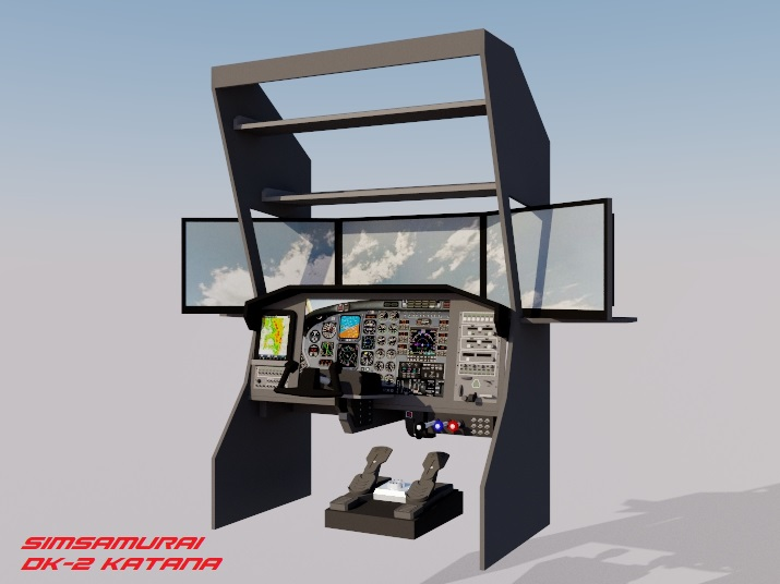 DIY Flight Simulator Cockpit Blueprint Plans and Panels